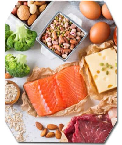 อาหารกลุ่มโปรตีน
