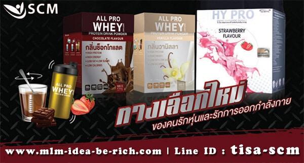 อาหารเสริมโปรตีนทดแทน HyPro AllPro